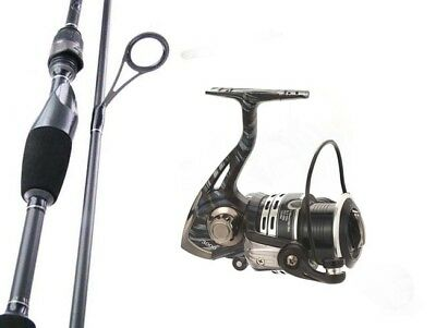 SAMBO Carbon Fibre Fishing Rod and Reel Combo 7'2 3kg Tournament Spinning Bream