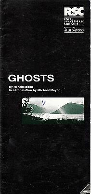 1994  The Pit Theatre Programme - GHOSTS - SIMON RUSSELL BEALE - JANE LAPOTAIRE