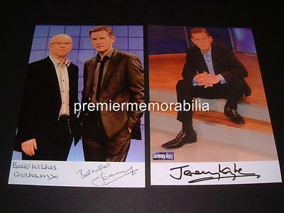The Jeremy Kyle Show Jeremy Kyle & Graham Stanier Signed Photos