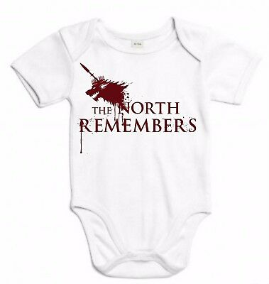 BODY JUEGO DE TRONOS GAME OF THRONES NORTH REMEMBERS T-SHIRT SIL Sj023