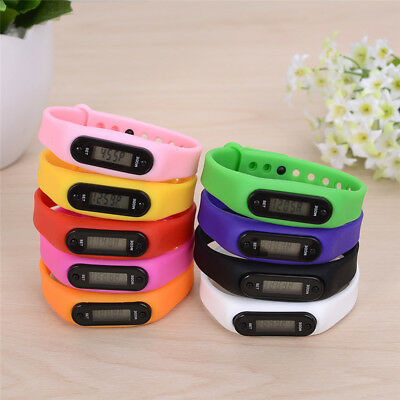 Children Step Counter - Smart Fitness Pedometer Kids Activity Tracker Wristband