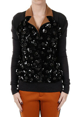 MARNi New Woman Black Embroidery Blazer Made in Italy Original NWT