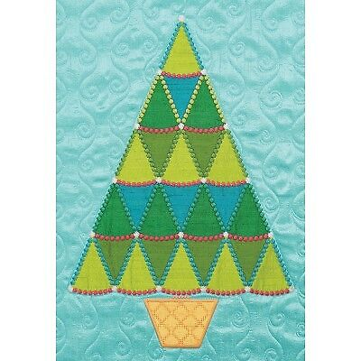 Accuquilt GO! Fabrik Cutting Dies-Sparkle Jumbo Tree by Sarah Vedeler
