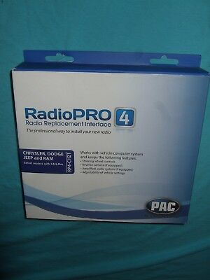 PAC RP4-CH21 RADIO REPLACEMENT INTERFACE New Open Box