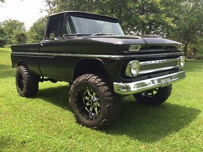 1963 Chevrolet C-10 Custom 1963 Chevrolet C-10 Chevy Short Bed Pickup 4WD Truck Lifted 4x4
