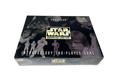 STAR WARS CCG PREMIERE EDITION TWO-PLAYER GAME Box Starter Set 1995 Decipher NEW