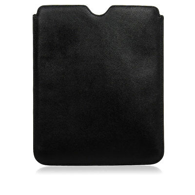 PRADA New Unisex Saffiano Leather Bordeaux iPad Tablet Case Made in Italy