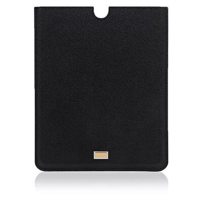 DOLCE&GABBANA New Unisex ACCESSORIES Leather Tablet Case Made in Italy NWT