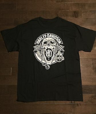 HARLEY DAVIDSON T SHIRT - Size Medium (Pre Owned) Mint Condition
