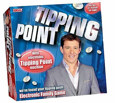 Ideal Tipping Point Kids Family Friends Party Quiz Game