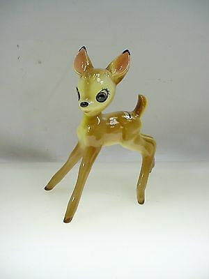 Vintage Walt Disney Bambi Figurine Evan Shaw Usa W- Label
