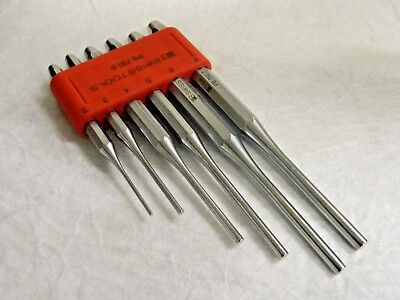 PB Swiss Tools 6 Piece Set of parallel pin punches 2 to 7 mm 750.B
