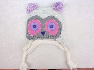 Knitted Owl Cap Adult Size