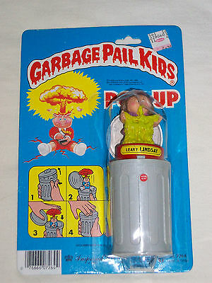 GARBAGE PAIL KIDS - 1986 Imperial Toys - POP UP Toy - Leaky Lindsay - Unopened