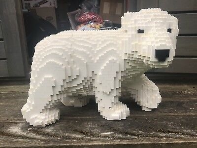 Lego MOC POLAR BEAR Instructions