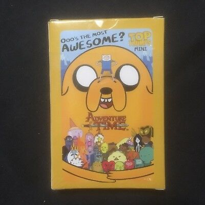 Adventure Time Card Game. Top Trumps. Ooo's the most Awesome? Never used. as new