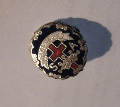 Salvation Army - PIN - COMPANY MEETING PIN WITH S A & CROSS