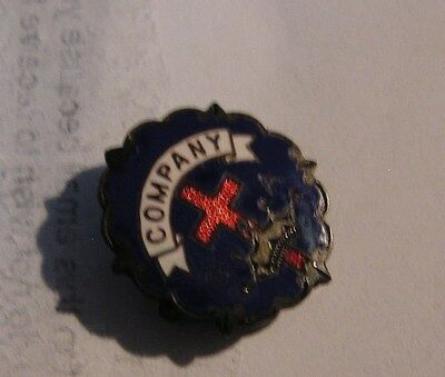 Salvation Army - PIN - COMPANY MEETING WITH CROSS - BLUE BACKGROUD
