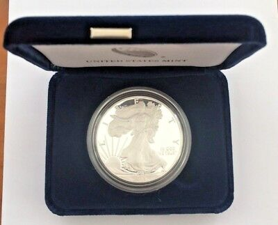 2015-W 1 oz Proof Silver American Eagle (w/Box & CoA)