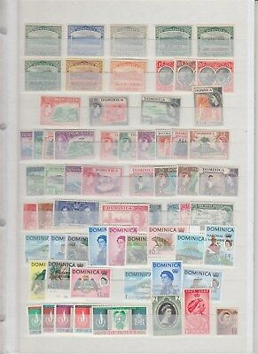 DOMINICA nice mint collection (CV $330 EUR297)