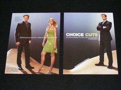 NIP TUCK magazine clippings lot TV Show