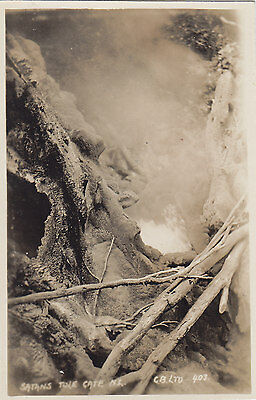 Satans Tole Gate NEW ZEALAND Graham Ltd. Real Photo Postcard 403