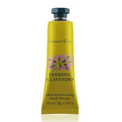 Crabtree & Evelyn Hand Therapy 25g - VERBENA & LAVENDER - Brand New & LAST STOCK