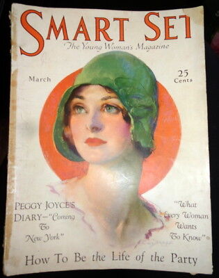 Vtg Smart Set 3/1929 1920s 1930s Fashion Young Woman Teen Magazine Ads Vogue