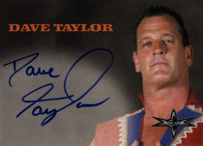 Dave Taylor 1999 Embossed WcW/nWo Signature Autograph Auto WCW NWO 1998