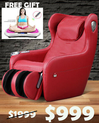 Luxury Relax Massage Automatic Multi-Functional Sofa / Massage Chair - Red
