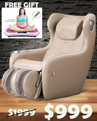 TT156 Luxury Relax Massage Automatic Multi-Functional Sofa Chair - Beige Colour
