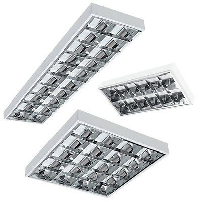 Top Set LED rasterleuchten 60/120cm with / without T8 LED Tube Pipe Office Lamp