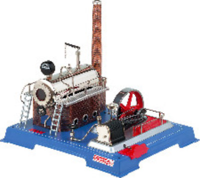 Wilesco D20 Steam Engine 500CC With Double Action Brand New Free Shipping