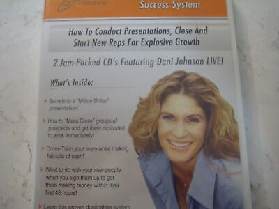 Dani Johnson's Presentation Success System .How to Conduct Presentations..NEW!!