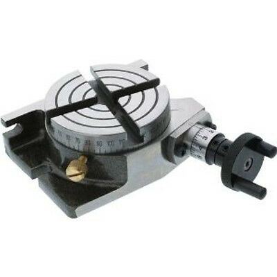 Rotary Table 3 Inches / 80mm Horizontal Vertical Model Milling Machine New