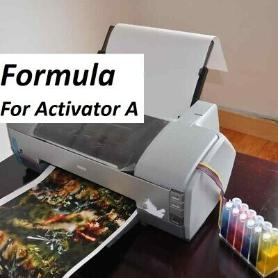 "FORMULA "" a "" printer watertransfer printing activator""Hydrographics activator"""