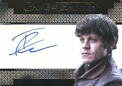 Game Of Thrones Valyrian Steel VALYRIAN AUTOGRAPH card IWAN RHEON as RAMSAY