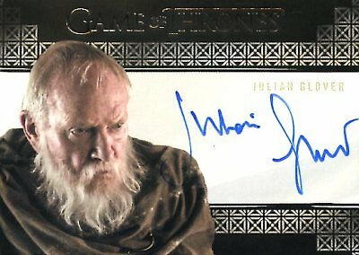 Game Of Thrones Valyrian Steel VALYRIAN AUTOGRAPH card JULIAN GLOVER as PYCELLE