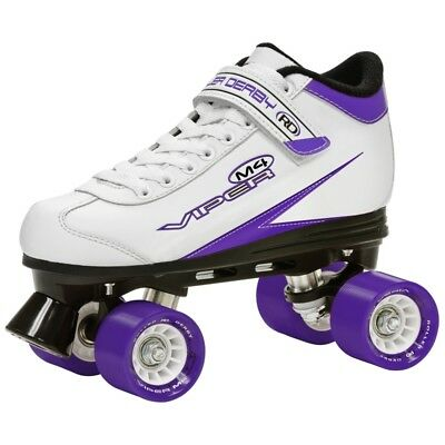 Roller Derby Viper M4 Womens/ Girls Quad Roller Skates  - US 10