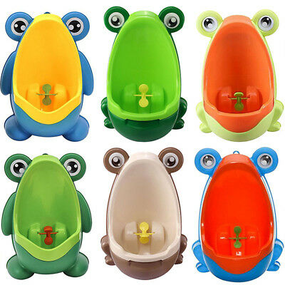 Vasino Bimbo RANOCCHIA rana con ventose FROG boy potty trainer with sucker