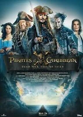 Pirate of the Caribbean: Dead Men Tell No Tales  iTunes HD Digital Code ONLY