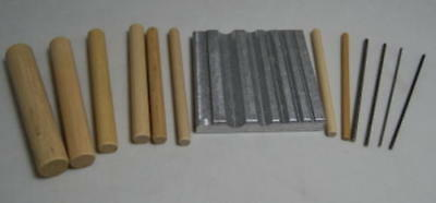The Small Shop - Photo Etch Standard Rolling Set SMS014