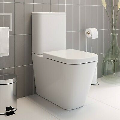 Modern Frosted Square White Gloss Bath Side Panel 1700mm MDF Adjustable Plinth