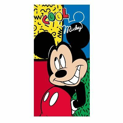 Micky Mouse Official Licenced Children Kids Cotton Beach Towel - 140 x 70 cm