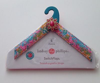 Lindsay Phillips Switch Flops Straps Size Small Shanna New In Package