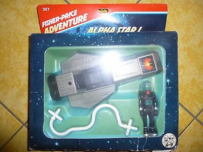 """ ALPHA STAR 1 "" fisher-price adventure in ovp !"