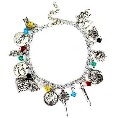 Game of Thrones A Song of Ice and Fire Charm Bracelets New with gift box