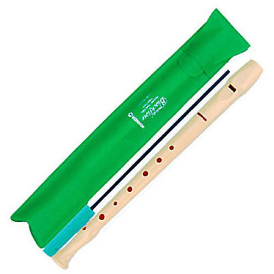 HOHNER Melody Blockflote Recorder Flute with Case 9508 C SOPRAN 1