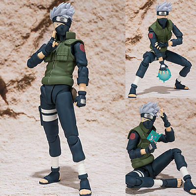 NEW 15cm Naruto movable Hatake Kakashi action figure toy