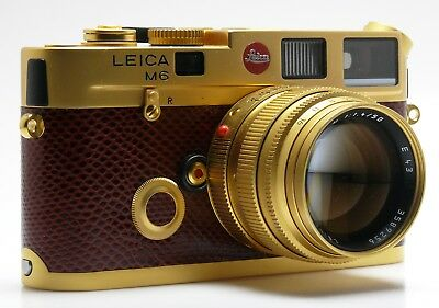GOLD LEICA M6 SULTAN of BRUNEI LIMITED EDITION SET